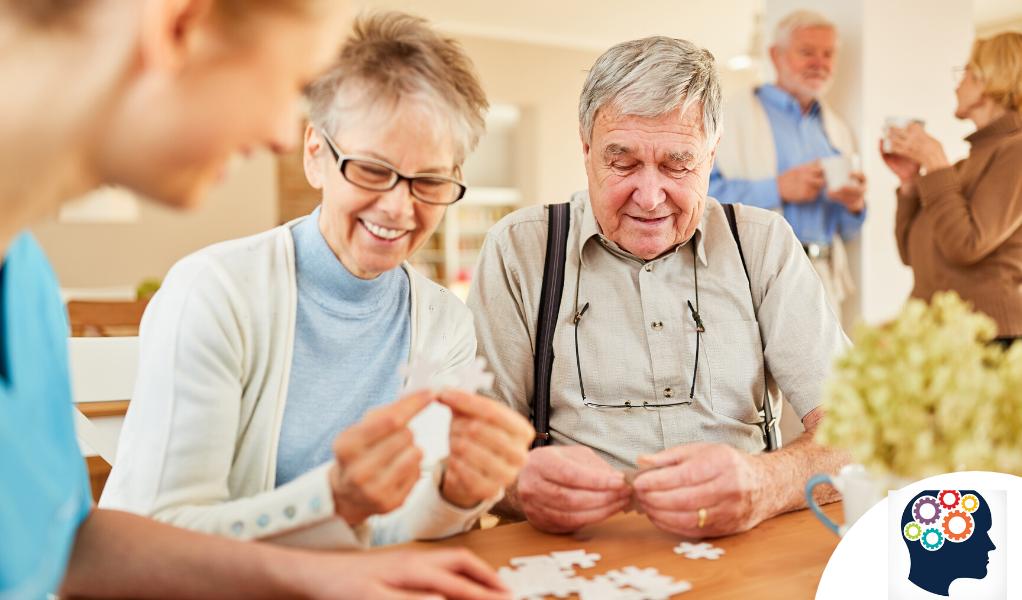 Casse-têtes et jeux de logique pour stimuler les personnes âgées