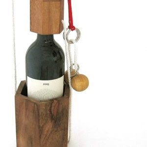 Casse-tête en bois bouteille
