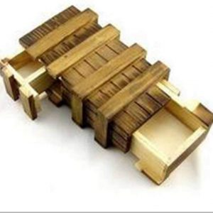 Casse-tête en bois tiroirs secrets