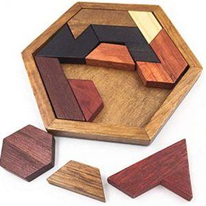 casse-tête hexagone