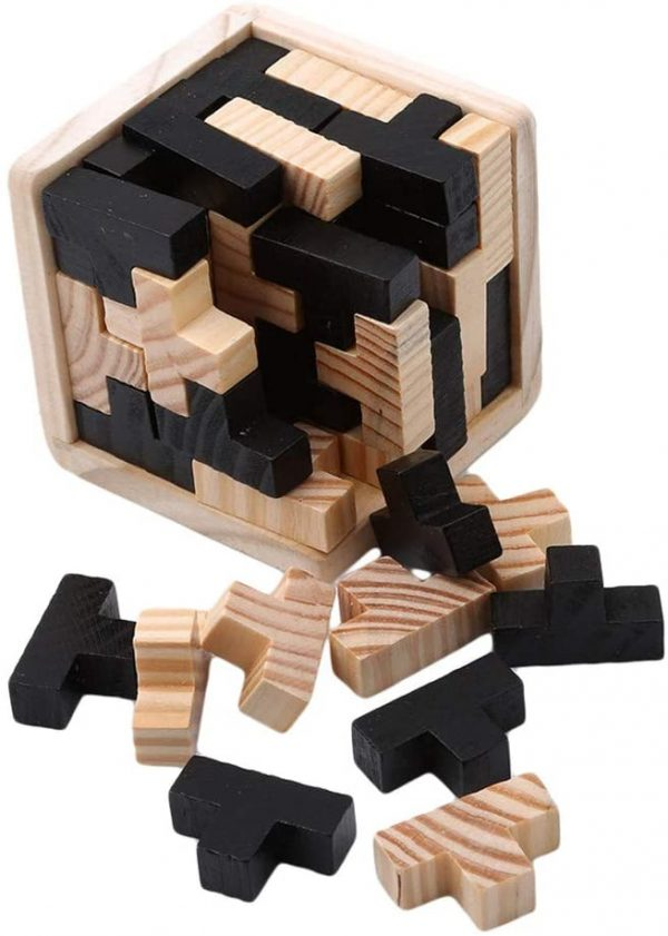 casse-tête en bois Tetris